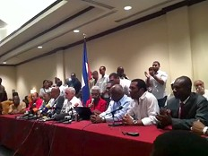 Haiti - Elections : The Group of 12 wants a provisional government