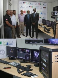 Haiti - Digital TV : Visit of the installations of the TNH pilot channel
