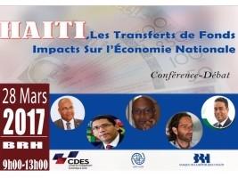 iciHaïti - Conférence-débat : «Haïti, les transferts de Fonds : Impacts sur l'Economie Nationale»