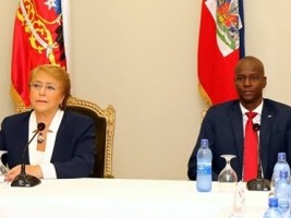 Haiti - Chile : President Bachelet addresses the issue of illegal Haitians in her country