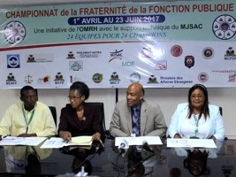 Haiti - Football : Official Launch of the Civil Service Championship