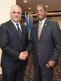 Haiti - Diplomacy : The new Chancellor met his Dominican counterpart