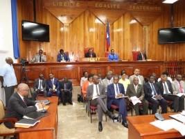 iciHaïti - Politique : Le Gouvernement passe son oral devant le Sénat