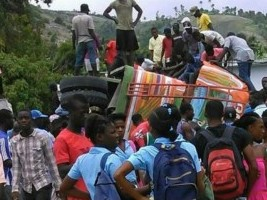 Haiti - FLASH : Bus accident in the South West at least 18 victims