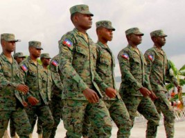 Haiti - FLASH : Towards the recruitment of first soldiers
