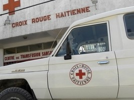 Haiti – FLASH : Foolish Individuals shoot at Red Cross vehicle