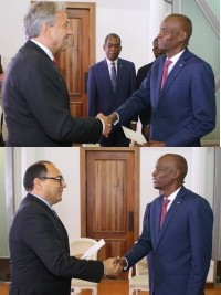Haiti - Diplomacy : Accreditation of two new ambassadors
