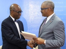 Haiti - Policy : Installation of the Director of Private Cabinet of PM