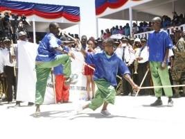 Haïti - Patrimoine : Jeu du bâton un art de combat de l'armée indigène