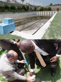 Haiti - Sports : Launch of renovation works of the Olympic swimming pool