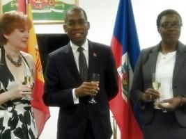 Ha ti espagne inauguration de la chambre de commerce for Chambre de commerce franco haitienne