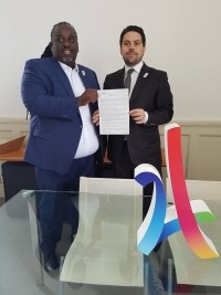 Haiti - Sports : Mayor of Paris asks for the support of the Mayor of PAP