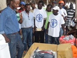 Haiti - Agriculture : FAO, Belgian cooperation and the Ministry alongside fishermen from the Great South
