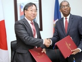 Haiti - Japan : Donation of $18 million for the construction of schools