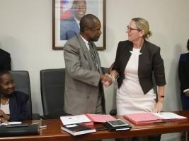 iciHaïti - Politique : 5e recensement général de la population, Haïti signe avec l'ONU