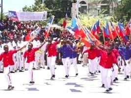iciHaiti - History : The Haitian flag, symbol of freedom, unity and national pride