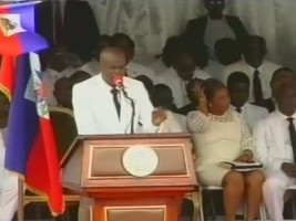 Haiti - Politic : Flag Day, Jovenel Moïse speech in Arcahaie