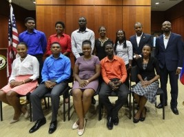 Haiti - Agriculture : 12 Haitian scholars begin their Master in the USA