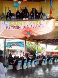 Haiti - Petit-Goâve : Lawyers celebrate the Feast of St. Yves