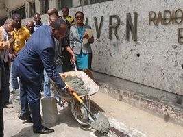 Haiti - Reconstruction : Launch of work to rehabilitate the former premises of the RNH