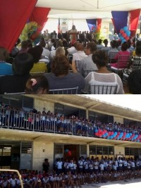 Haiti - Switzerland : Inauguration of the new buildings of the Guillaume Manigat National School