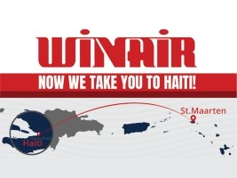 Haiti - NOTICE : First direct flight St. Maarten-Haiti-St. Maarten
