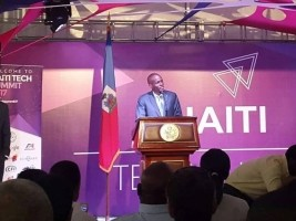 Haiti - Politics : Moïse opens the International Summit «Haiti Tech Summit»