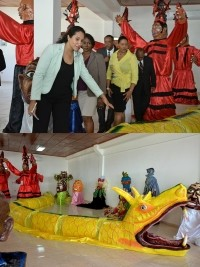 iciHaïti - Jacmel : inauguration du Centre d'Interprétation du Carnaval