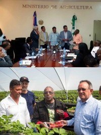 Haiti - Politics : Mission of the Minister of Agriculture in the Dominican Republic