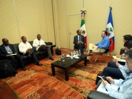Haiti - Mexico : First meeting between the two Chancellors