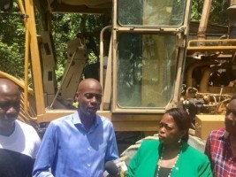 Haiti - Reconstruction : Rehabilitation of the Camp Coq-Vaudreuil road section