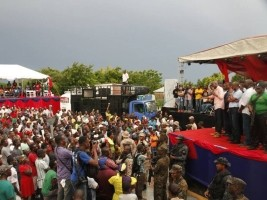 Haiti - Politics : Moïse calls on farmers to regroup their land