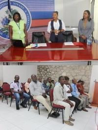 iciHaïti - Politique : Nouvelle journée de formation pour les employés du MHAVE