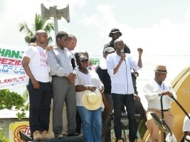 iciHaiti - Nippes : Moïse launches the Caravan of Change
