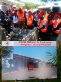 Haiti - Health : $5M for the future CRH National Blood Transfusion Center