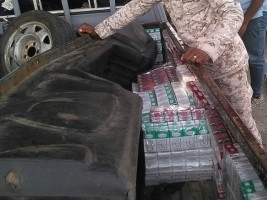 Haiti - DR : Seizure of 2,470 packages of contraband cigarettes from Haiti