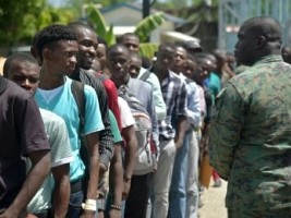 Haiti - Army : More than 2,000 candidates soldier enrolled