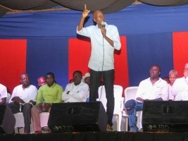 Haiti - Politics : Moïse launches the work of the Caravan in the city of Les Cayes