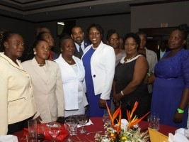 Haiti - Social : First Lady pays tribute to women Mayors