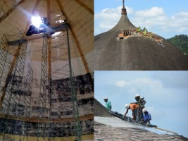 Haiti - Heritage : Repair of the dome of the Royal Chapel of Milot