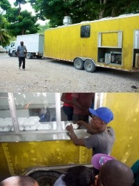 iciHaïti - Social : Distribution de plus de 3,000 repas chaud dans le Sud
