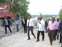 Haiti - Politics : The State contributes to the work of Delmas