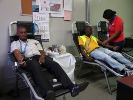 iciHaiti - Health : Blood Collection in the Public Service