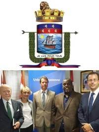 Haiti - Politics : Mayor Chevry meets with representatives of the International Community