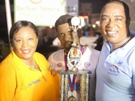 Haiti - Cycling : Willy Joseph winner of the Les Cayes Fraternity Race