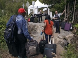 Haiti - Canada : More than 6,400 Haitians have illegally crossed the Quebec border !