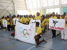 Haiti - Sports : Launch of Olympic Week