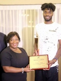 Haiti - Basketball : Nerlens Noël, the Haitian-American star of the NBA, honored by the MJSAC