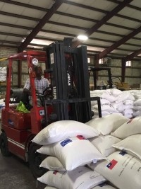 Haiti - Humanitarian : Food For The Poor, ready for the arrival of IRMA