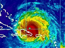 Haiti - IRMA : Risk of impact from high to extreme intensity